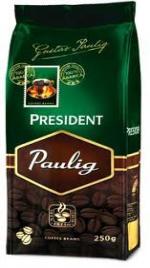 Кофе paulig president в зернах 100 арабики вес